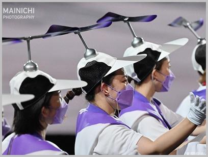 パラリンピック,開会式,ヘリコプター