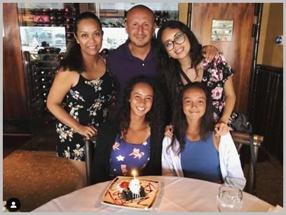 レイラフェルナンデス,wiki,両親